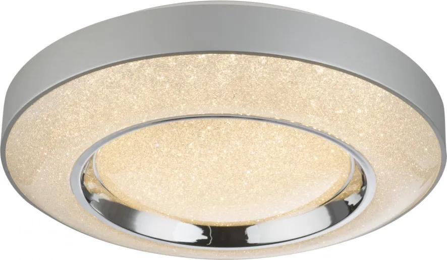 Globo 48396-36 Plafoniere cristal ANNETTE inkl. 1xLED 36W 230V,  2400lm,  CCT 3.000-4500-6.000 2400lm IP20 A