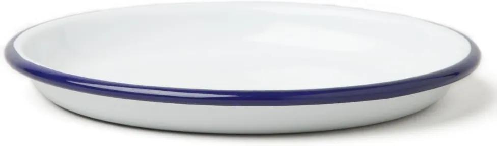 Farfurie smălțuită Falcon Enamelware, Ø 14 cm, albastru