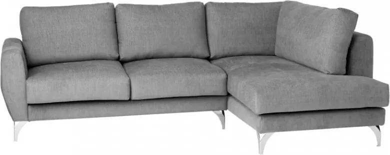 Canapea gri din material textil 3 locuri Aragona Custom Form