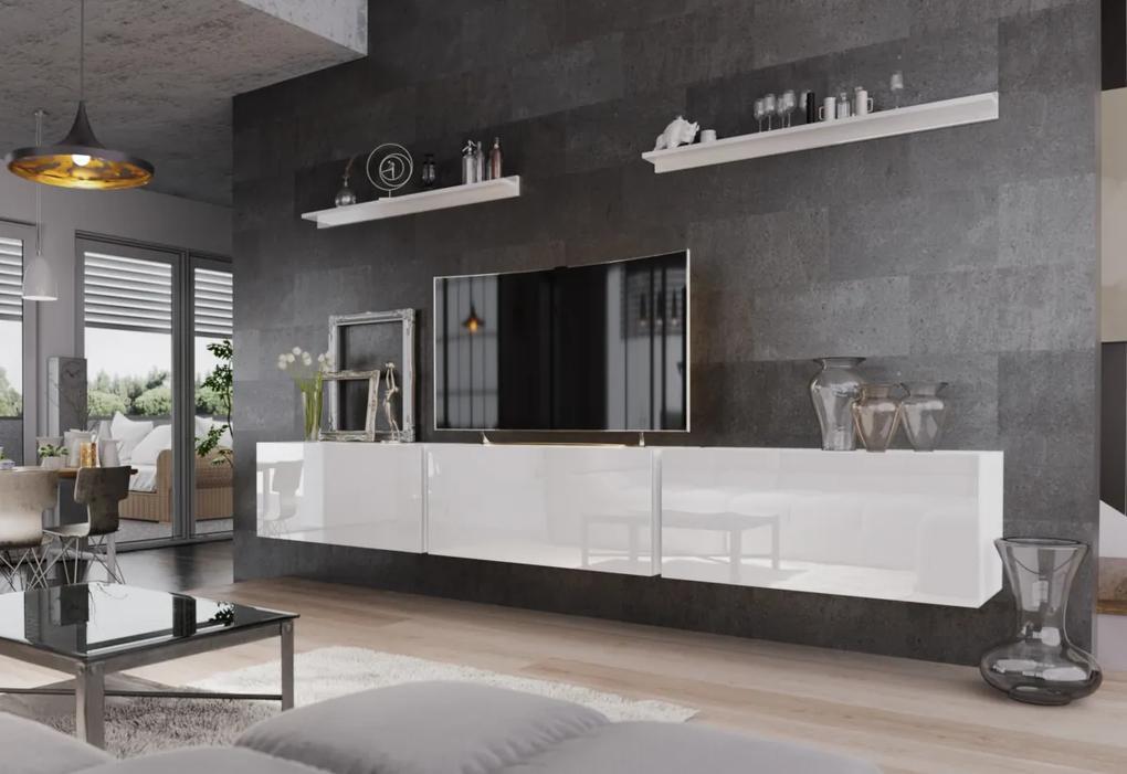 Expedo Mobilă sufragerie ELPASO 6, alb/alb luciu