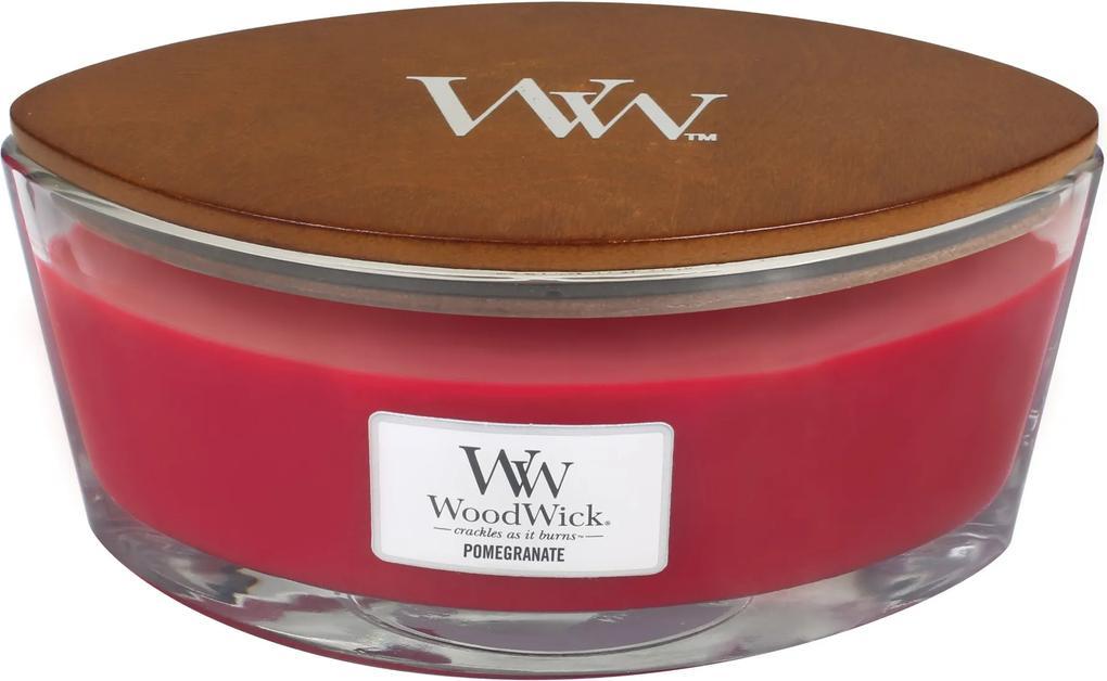 WoodWick lumanare parfumată Pomegranate barca