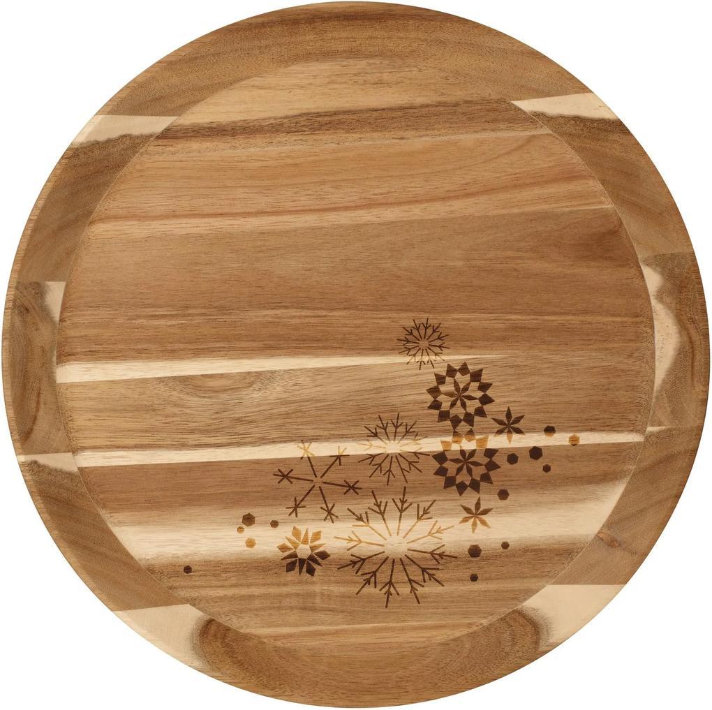 Tava din lemn Crystals, large