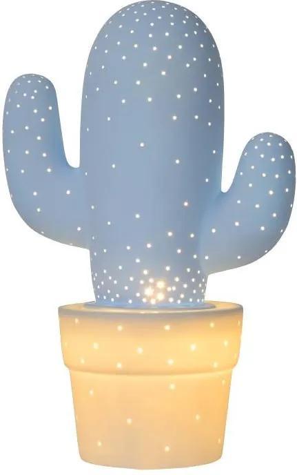 Lucide 13513/01/68 - Lampa de masa CACTUS 1xE14/40W/230V albastra