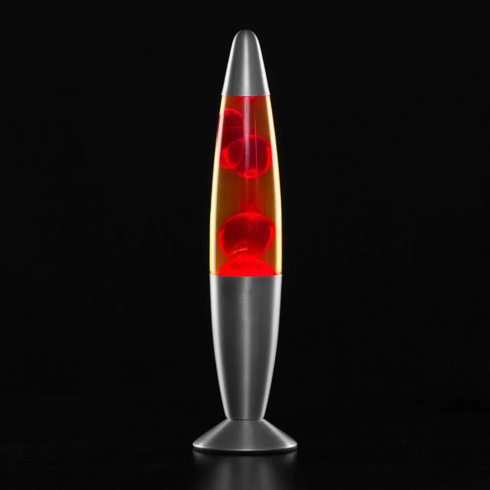 Veioză cu lavă InnovaGoods Magma, roșu