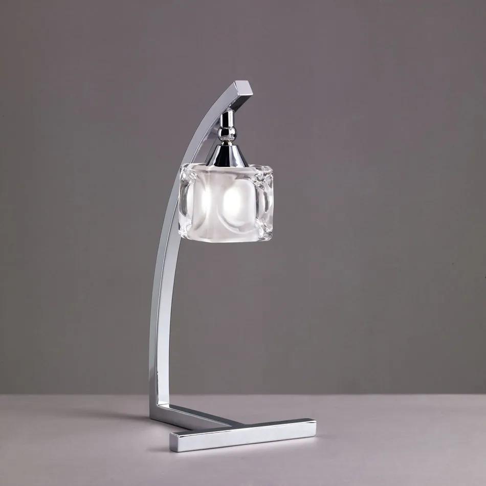 Mantra CUADRAX 0954 Veioze, Lampi de masă crom 1xG9 max. 33 W 15x35 cm
