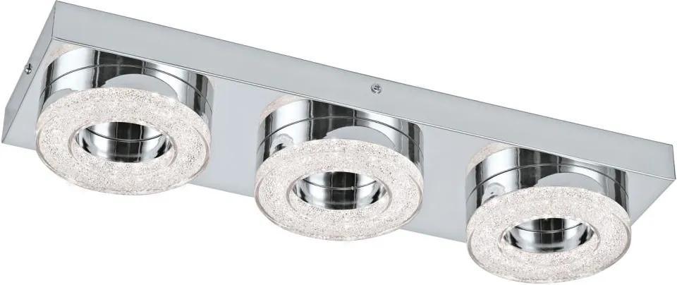 Eglo 95663 - LED Plafoniera de cristal FRADELO 3xLED/4W/230V