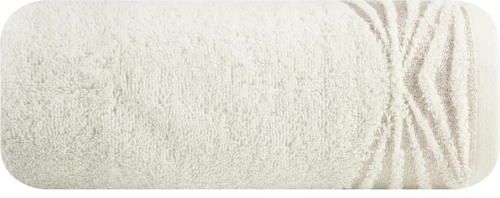 Prosop din bumbac SALLY alb 50X90 cm