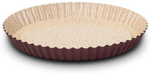 Forma tarta 27 cm cu margini ondulate si invelis ceramic antiaderent Terrestrial NAVA NV 103 055