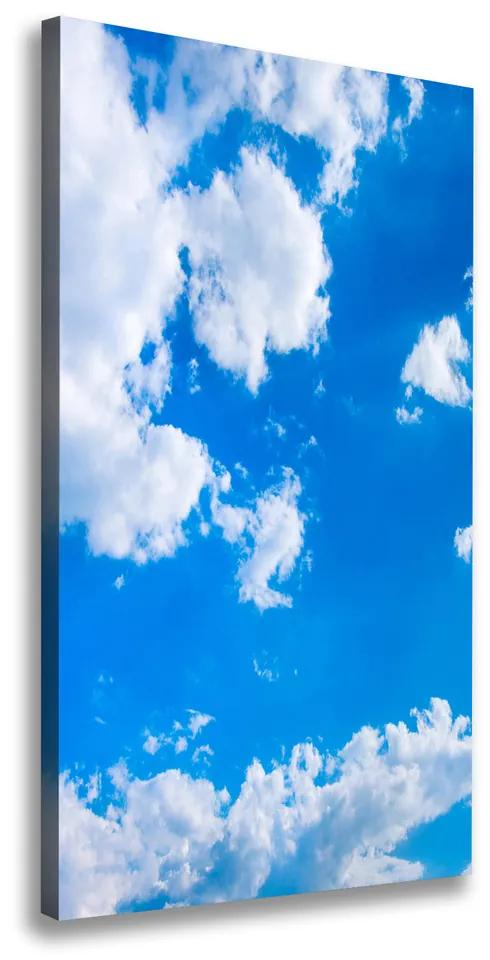 Imprimare tablou canvas Nori pe cer