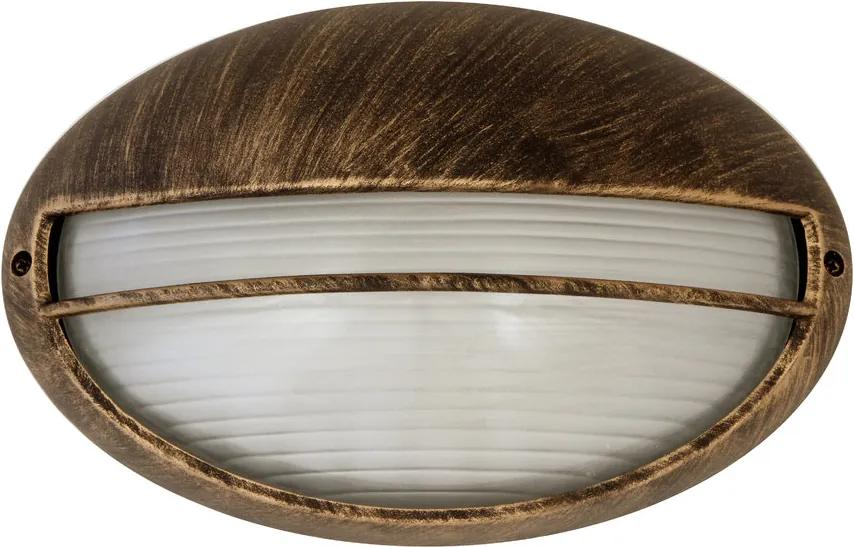 Rábalux Hektor 8496 Aplice pentru iluminat exterior auriu antic E27 1x MAX 100W 320 x 205 mm