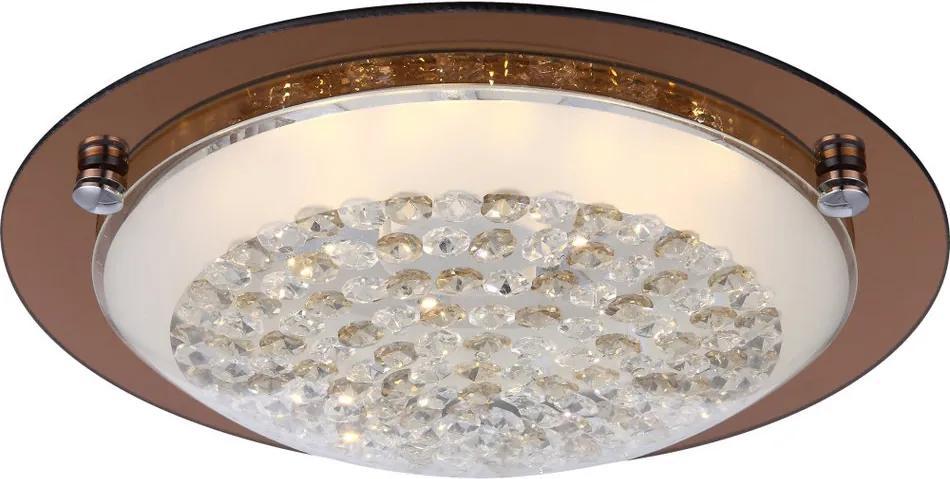 Globo 48263 Plafoniere cristal TABASCO 1 x max. 12W 1040lm 3100K IP20 A+