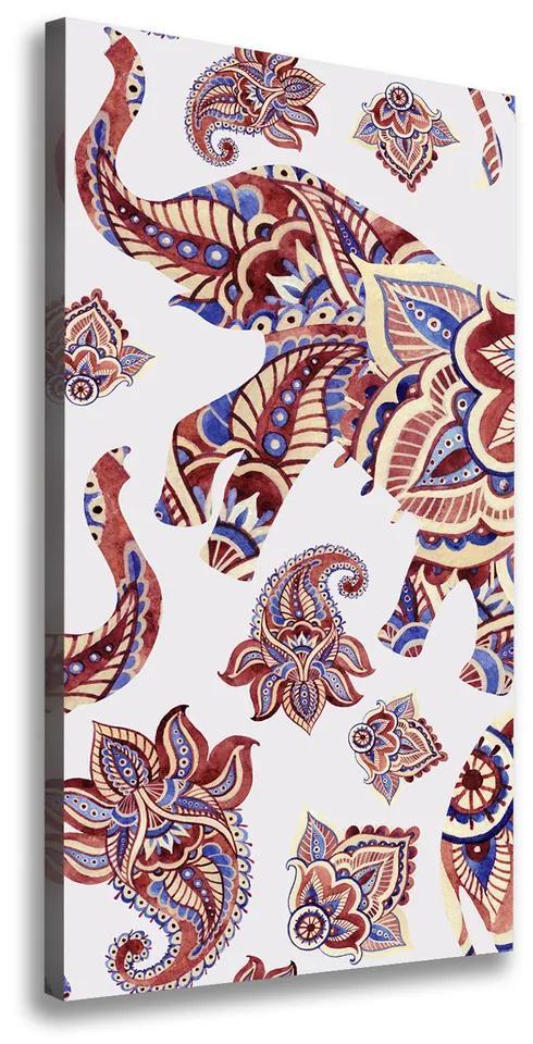 Tablou canvas Modele etnice Elephant