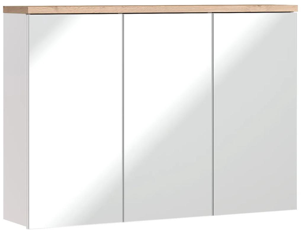 Corp suspendat cu oglinda Bora 100 cm Alb, 16 cm, 100 cm, 70 cm, Corp suspendat cu oglinda