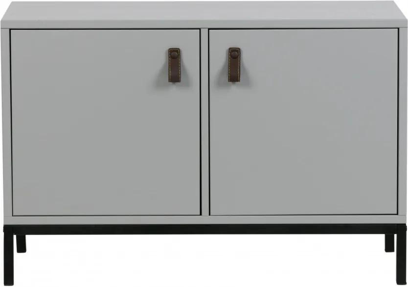 Comoda din pin Grey 81 cm