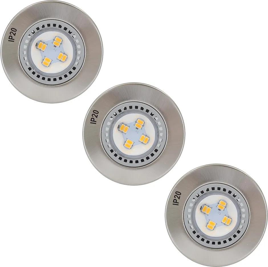 SET 3x Lampă încastrată baie LED 3xLED/4,2W/230V IP23