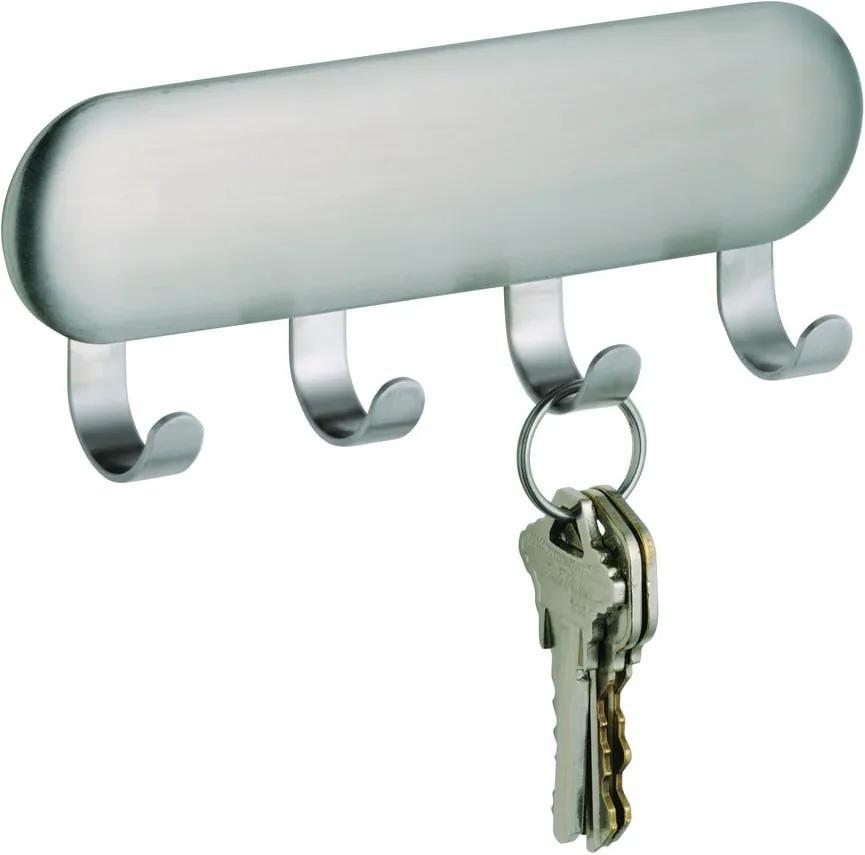 Cuier autoadeziv pentru chei iDesign Forma, 16 x 14 cm