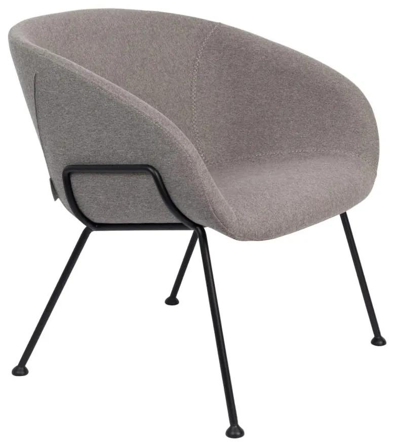 Fotoliu gri Lounge Chair Feston Fab Grey