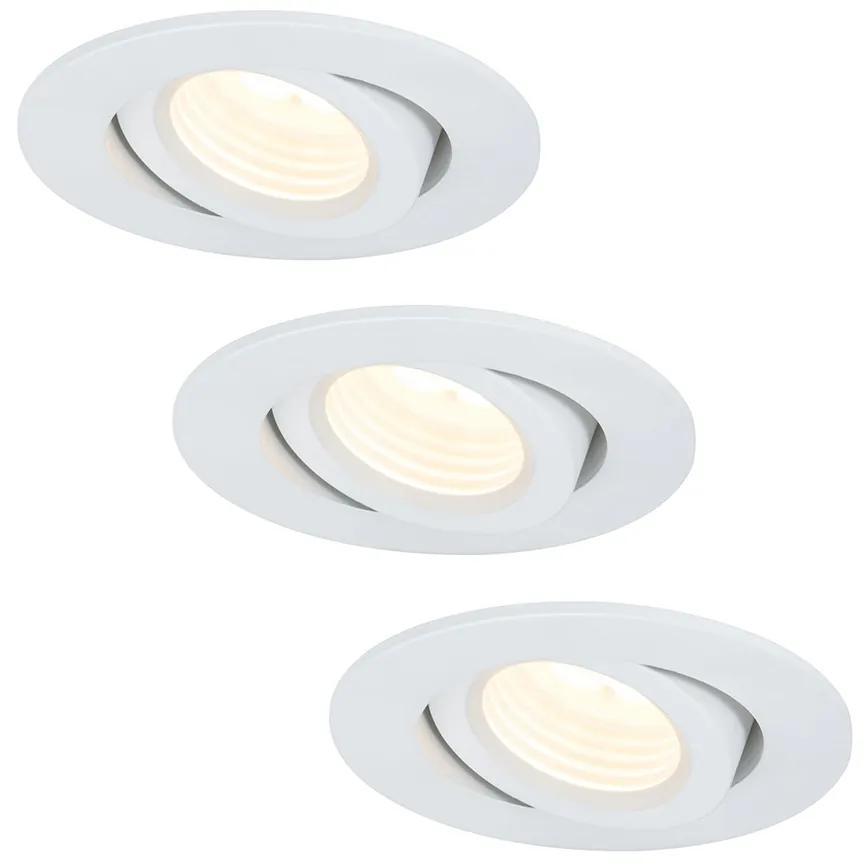 Paulmann 92685 - SET 3x LED Lampă încastrată PREMUIM LINE 3xLED/10W/230V