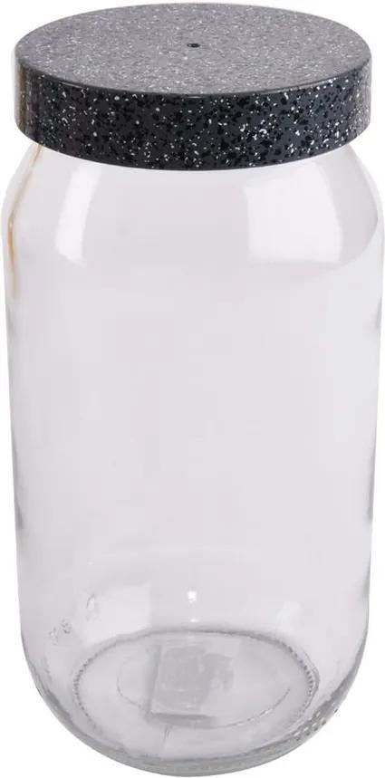 Doză de sticlă Orion Granit, 1 l