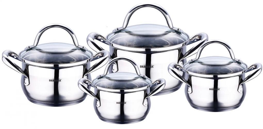 Set oale inox 8 piese Bergner Gourmet BG 6523