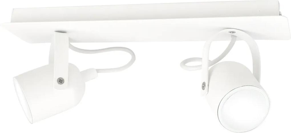 Lustra Plafon Pico White    Milagro Modern, GU10, Alb, MLP990, Polonia