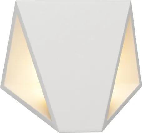 Lucide Tixis 17805/08/31 Aplice pentru iluminat exterior alb alb LED - 2 x 4W 16 x 15,2 x 7,4 cm