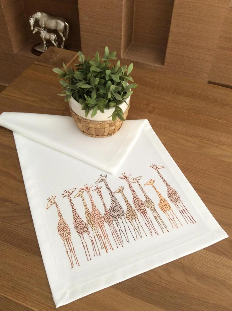 Napron Giraffe 45 x 140 cm