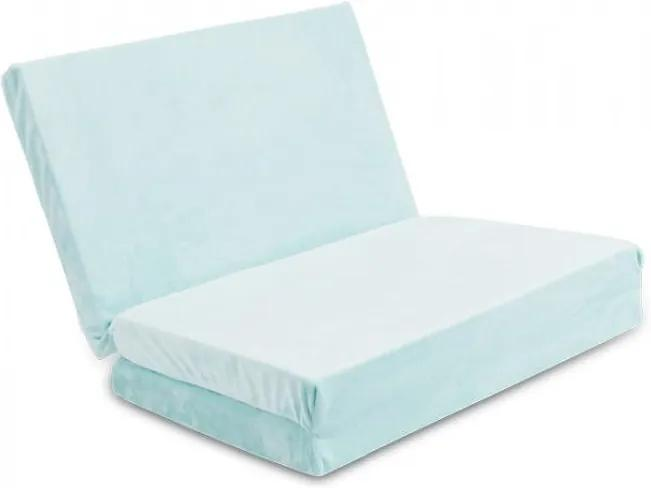 Saltea pliabila pentru patut Baby Matex Plush Mint 33