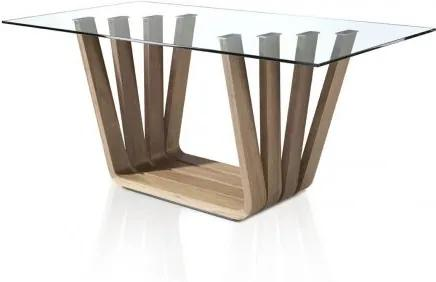 Masa dining design modern Walnut, 180x95cm
