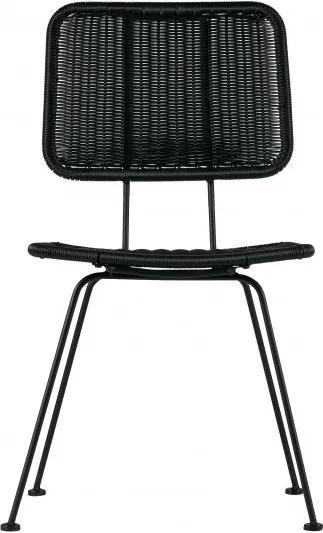 Set 2 scaune Hilde negre