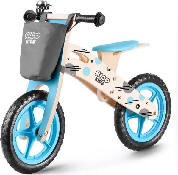 Bicicletă fără pedale din lemn Ricokids Harry