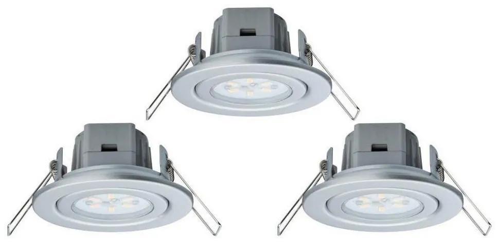 Paulmann - Nice Price 3895 - SET 3xLED/3W Lampă încastată BASIC 230V