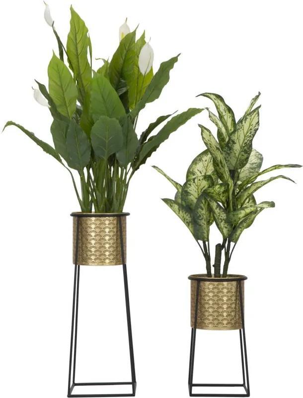 Set 2 vaze pentru flori Couple Cup Glam Ø26x70-23x45 cm