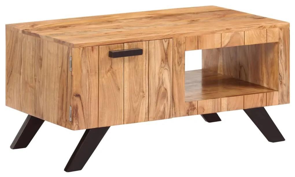 247492 vidaXL Măsuță de cafea, 90 x 50 x 45 cm, lemn masiv de acacia