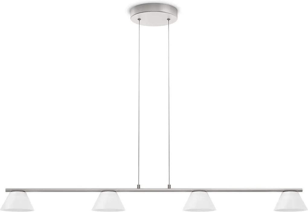 Philips 36021/17/16 - LED Lustra MYLIVING VENDEE 4xLED/4W/230V