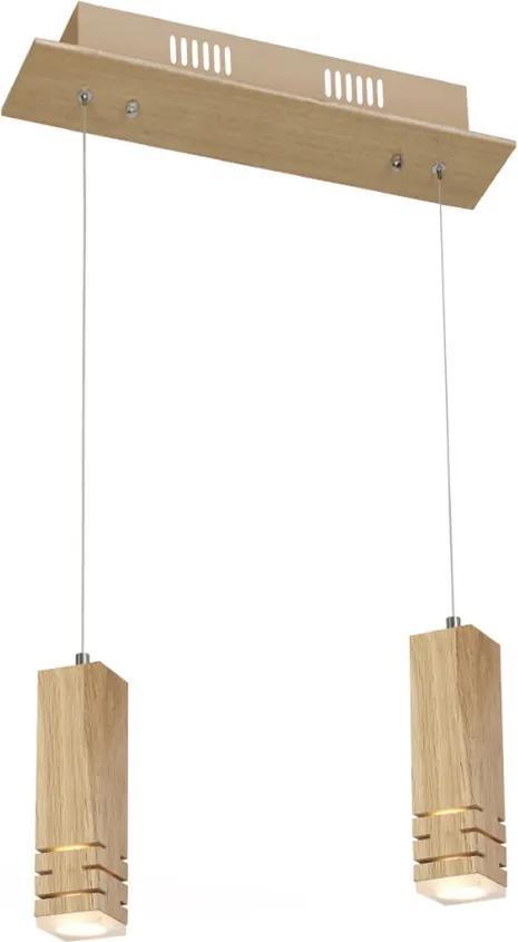 LED Lustră pe cablu BERGEN 2xLED/5W/230