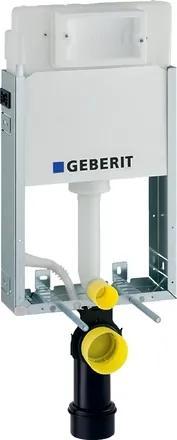 Rezervor incastrat Geberit Kombifix Basic Delta de 12 cm grosime cu cadru si actionare frontala H108cm