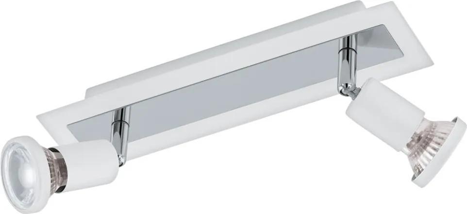 Eglo 94959 - LED Lampa spot SARRIA 2xGU10-LED/5W/230V