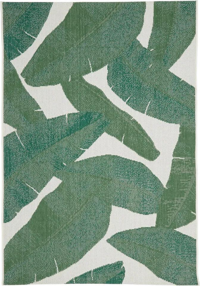 Covor Jungle interior-exterior, alb/gri, 160 x 230