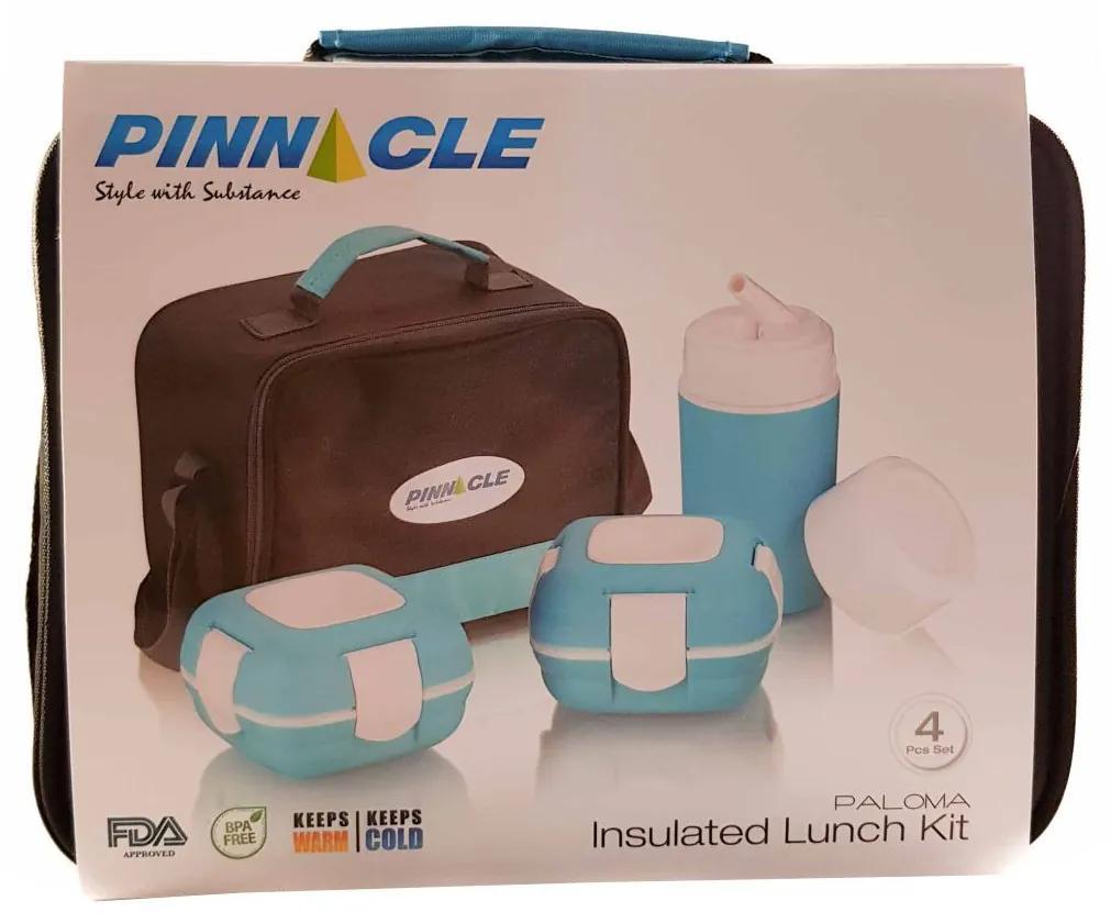 Set caserole PALOMA Albastru, pentru mancare, termoizolante