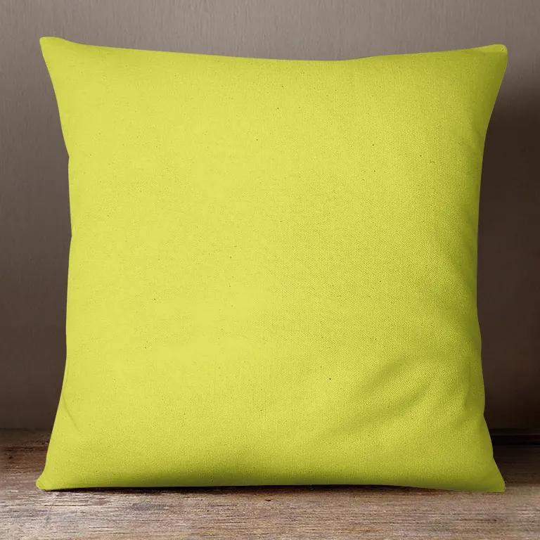 Goldea față de pernă din bumbac - verzui 30 x 50 cm