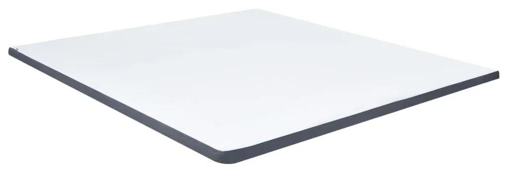 288216 vidaXL Topper saltea de pat cu somieră, 200x180x5 cm