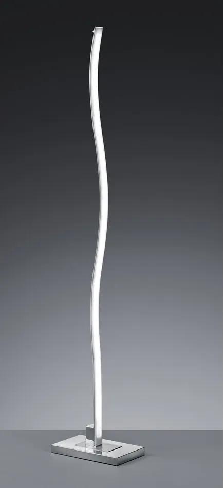 Trio 474112505 Lampadare MARIUS Aluminiu periat aluminiu incl. 1 x SMD, 25W, 3000K, 2300Lm 2300lm 3000K IP20