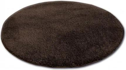 Covor rotund Shaggy Micro maro cerc 60 cm