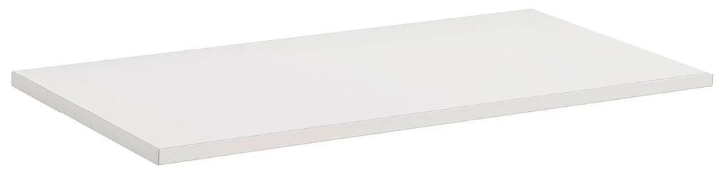 Polita simpla din PAL, 60x40x1,8 cm, Alb