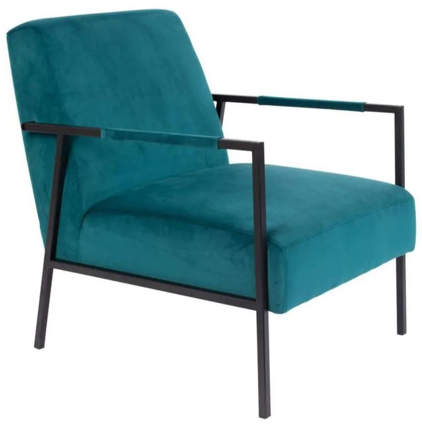 Fotoliu Lounge Chair Wakasan Grey Teal