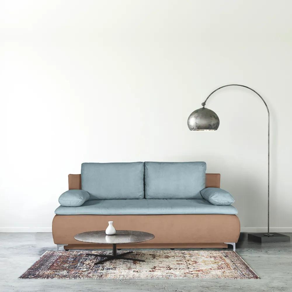 Canapea extensibila, lada de depozitare, topper 7 cm, Loren