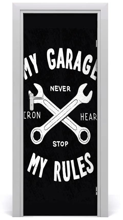 Autocolante pentru usi garaj zicale mea