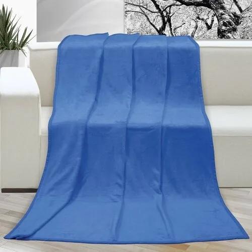 Pătură Korall micro, albastru, 150 x 200 cm