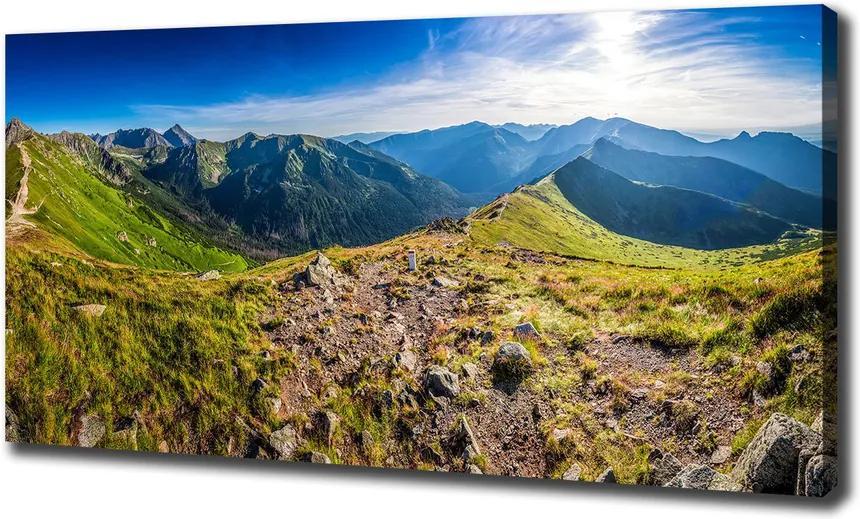 Tablou pe pânză canvas Panorama de munte